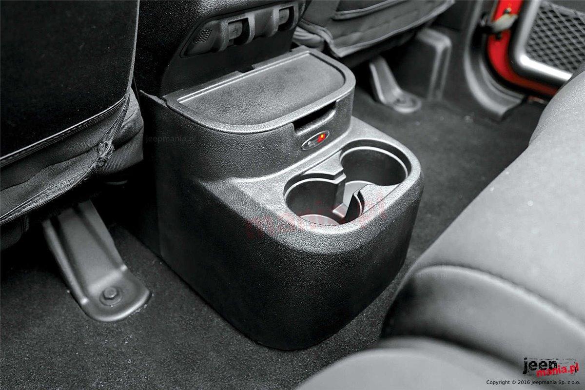 Organizer Rear Seat Mounted Black 11 18 Jeep Wrangler