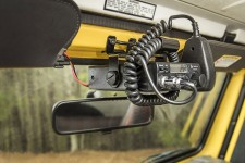 CB Radio Mount, 97-02 Jeep Wrangler TJ