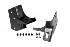 Windshield Auxiliary Light Mounting Brackets, 97-06 Jeep Wrangler TJ