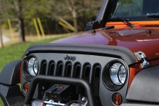 Wraparound Bug Deflector, Black Matte, 07-16 Jeep Wrangler JK
