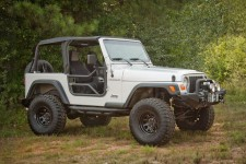 Tube Doors, Locking : 97-06 Jeep Wrangler TJ