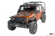 Sherpa Roof Rack, 07-16 Jeep Wrangler JK, 4 Door
