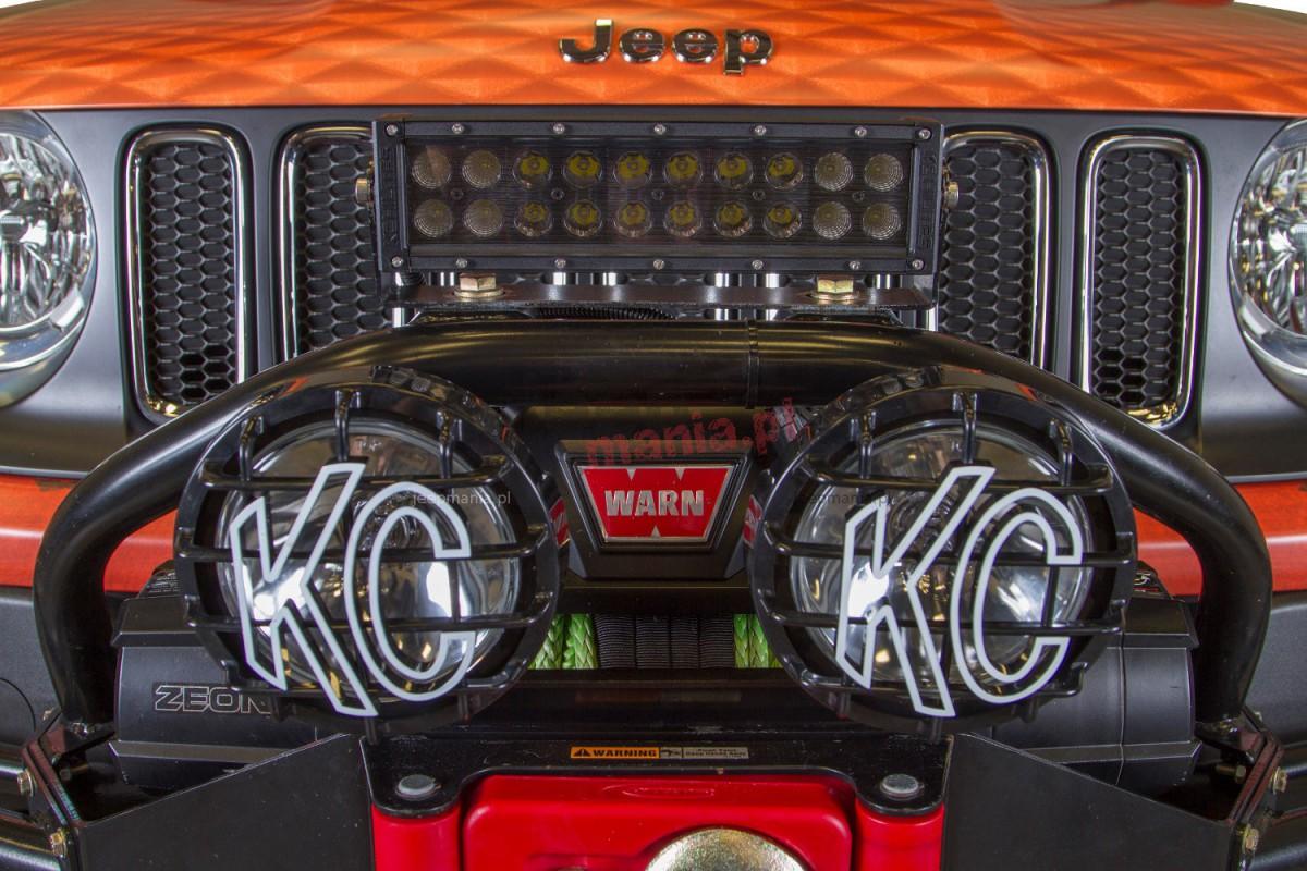 Front Winch Bumper Light Bar Mount Jeep Renegade