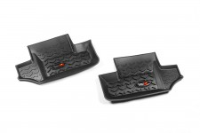 All Terrain Floor Liner, Rear Pair, Black : 07-18 Jeep Wrangler JK