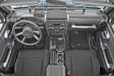 Interior Trim Accent Kit, Chrome : 07-10 Jeep Wrangler JKU
