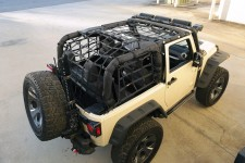 Cargo Net, Black, 07-16 Jeep Wrangler JK 4 Door