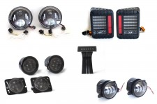Complete LED Light Kit : 2007 - 2018 Jeep Wrangler JK