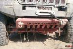 Osłona z Uchwytami do szarpania-holowania, czerwona, Jeep Grand Cherokee WJ 1998-2004