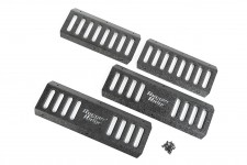 RRC Side Armor Guard Plate Kit : 07-18 Jeep Wrangler JKU