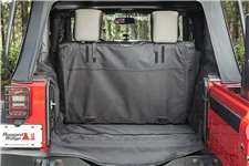 C3 Cargo Cover, No Subwoofer : 07-18 Jeep Wrangler JK, 2 Door