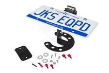 Spare Tire License Plate Mount, Jeep JK / TJ / YJ