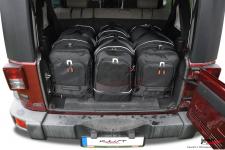 Zestaw toreb do bagażnika, 4 szt., Jeep Wrangler Unlimited JKU