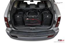Zestaw toreb do bagażnika, 4 szt., Jeep Grand Cherokee WK