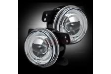 Clear 07-16 Jeep JK Wrangler LED Fog Lights
