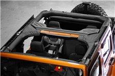 Roll Bar Cover, Polyester, 07-16 Jeep Wrangler Unlimited JK