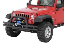 Double Tube Front Winch Bumper, 3 Inch, 07-16 Jeep Wrangler JK