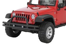 Double Tube Front Bumper, 3 Inch, 07-16 Jeep Wrangler JK