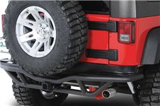 RRC Rear Bumper, 2 Inch Receiver Hitch, 07-16 Jeep Wrangler JK