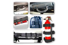 Roll Bar Accessory Kit, Interior : 07-18 Jeep Wrangler JK