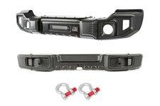 Spartacus Bumper Kit, Front/Rear : 07-18 Jeep Wrangler JK