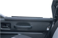 Half Door Arm Rests, Black | 87-06 Jeep Wrangler YJ/TJ