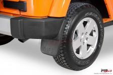 Tylne błotniki, chlapacze z logo Jeep : 07-17 Jeep Wrangler JK