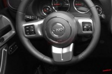 Steering Wheel Trim, Charcoal : 11-17 Jeep Wrangler JK