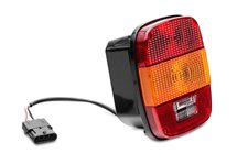 Tail Light Export : 97-06 Jeep Wrangler TJ