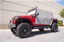 Cab Cover, Gray : 07-17 Jeep Wrangler JKU