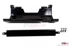 Skid Plate, Exhaust Muffler : 07-18 Jeep Wrangler JK