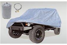 Full Car Cover Kit : 81-86 Jeep CJ8/04-17 LJ/07-17 JK