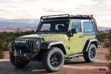 Roof Rack STEALTH 4 : Jeep Wrangler JKU