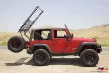Quick release for Jeep JK GOBI STEALTH i RANGER : 07-17 Jeep Wrangler JK & JKU