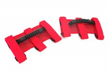Ultimate Grab Handles, Red, 55-15 Jeep CJ and Wrangler