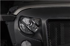 Elite Euro Guard Kit, Pivotal, Headlight, Black : 07-18 Wrangler JK/JKU