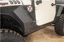 Body Armor Cladding, Rocker Panel Guard, Steel : 07-18 Jeep Wrangler JK