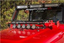 Offroad Jack Mounting Bracket : 97-06 Jeep Wrangler TJ/LJ