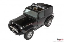 Black Diamond Sunrider® For Hardtop with Factory Hardtop : 07-17 Jeep® Wrangler & Wrangler Unlimited JK