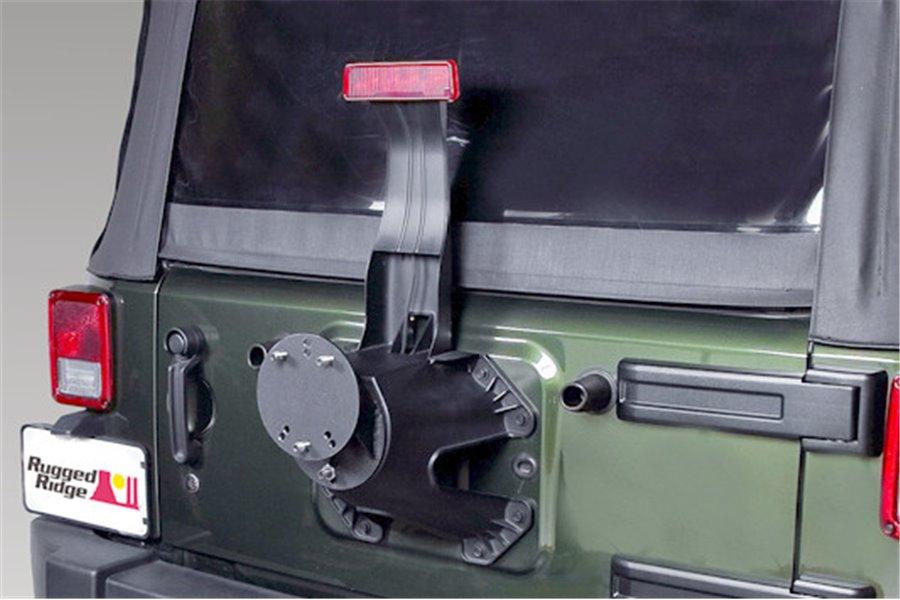 Spare Tire Spacer : 76-17 Jeep CJ/Wrangler YJ/TJ/JK