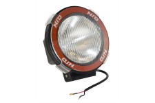 5 Inch Round HID Off Road Light Kit, Black Composite Housing