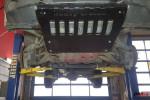Osłona z Uchwytami do szarpania-holowania, czarna, Jeep Grand Cherokee WK 2005-2010
