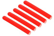 Elite Door Handle Inserts, Red, 4 Door : 07-17 Jeep Wrangler JKU