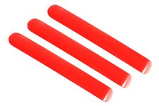 Elite Door Handle Inserts, Red, 2 Door : 07-17 Jeep Wrangler JK/JKU