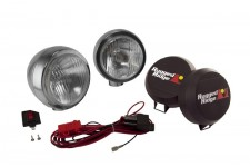 5 Inch Round HID Off Road Fog Light Kit, Stainless Steel Housing, Pair