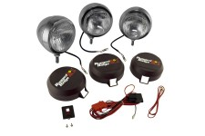 5 Inch Round HID Off Road Fog Light Kit, Stainless Steel Housing, Set