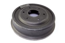 Brake Drum, Rear, Unfinned : 78-91 Jeep SJ Models