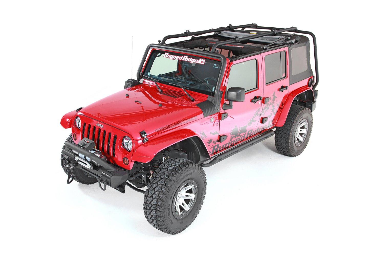 Sherpa Roof Rack 07 18 Jeep Wrangler Jku 4 Door