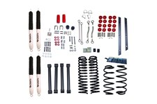 4 Inch Lift Kit with Shocks : 97-02 Jeep Wrangler TJ