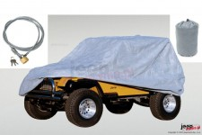 Full Car Cover Kit : 55-06 Jeep CJ/Wrangler YJ/TJ