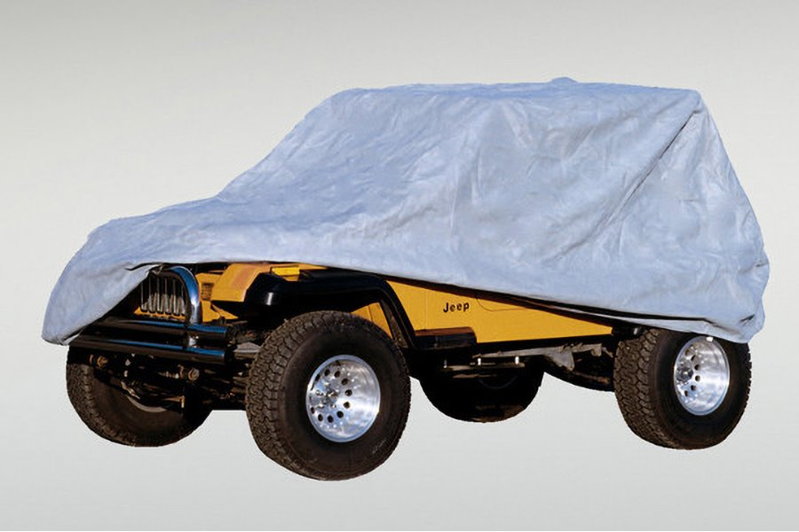 Weather Lite Full Jeep Cover : 76-95 Jeep CJ/Wrangler YJ